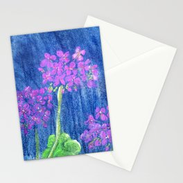 Pink Geraniums Stationery Cards