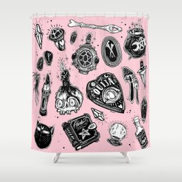 Witchy Shower Curtain