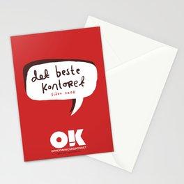 OK plakat - Det beste kontoret Stationery Cards