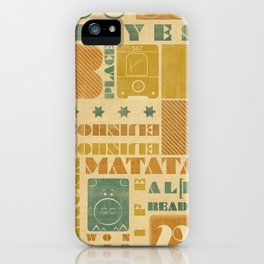 b_place iPhone Case