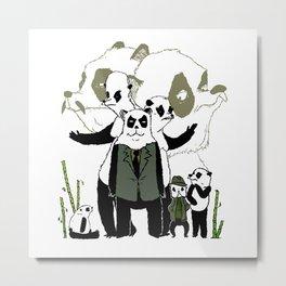 Sinon, un panda (7) Metal Print