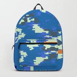 """""""Glitch"""" series #5 Backpack"""