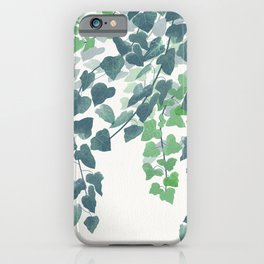 English Ivies iPhone Case