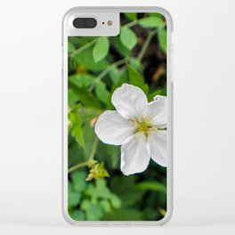Blooming and Budding Clear iPhone Case