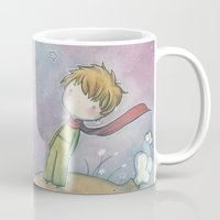 le petit prince Mugs featuring Le Petit Prince by malipi
