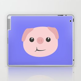 Cute chewing kawaii piggy Laptop & iPad Skin