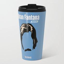 Brian Fantana: Reporter Travel Mug