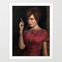 Joanie Art Print