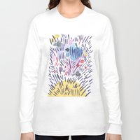 physics Long Sleeve T-shirts featuring Quantum physics by Dreamy Me