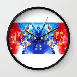 ALLEZ! ALLEZ! - Diptych Wall Clock