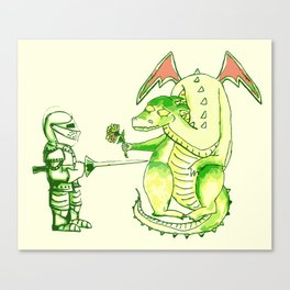 Good v.s. Evil? Canvas Print