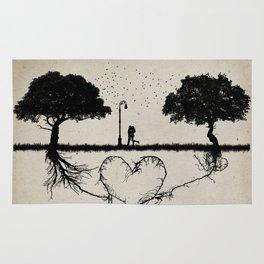 together for love Rug