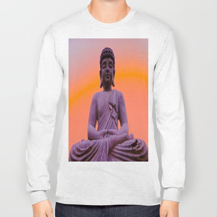 Sundown Buddha Long Sleeve T-shirt