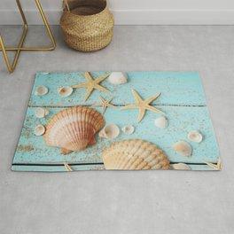 She Sells Sea Shells Rug