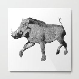 warthog Metal Print