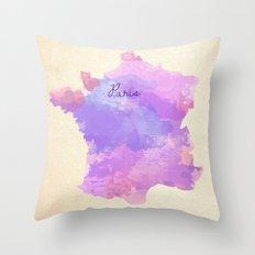 Paris, France  Throw Pillow