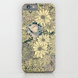 Exotic Flowers Garden iPhone Case