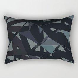 3D Futuristic GEO Rectangular Pillow