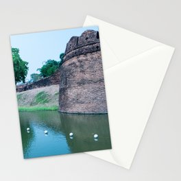 Old Walled City of Chiang Mai, Thailand Stationery Cards