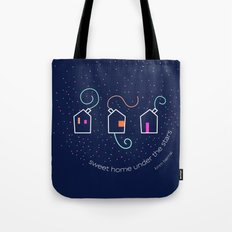 Sweet home under the stars Tote Bag