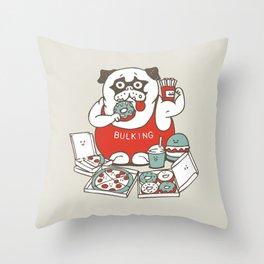 BULKING SEASON Throw Pillow