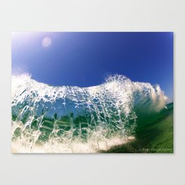 SHATERRED GLASS Canvas Print