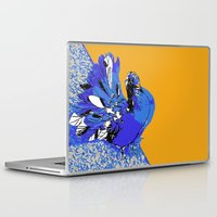pigeon Laptop & iPad Skins featuring Pigeon by Aimee St Hill