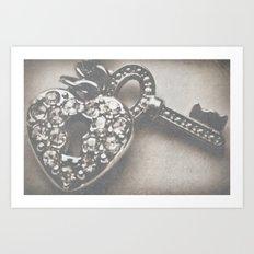 Secure My Love Art Print