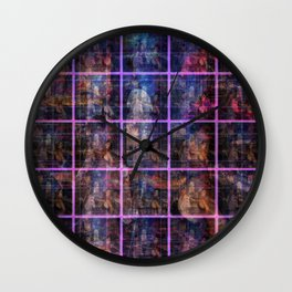 """Doors of All Hallows Eve"" by surrealpete Wall Clock"