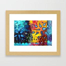 RAINFALL Framed Art Print