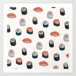 So Much Sushi Art Print