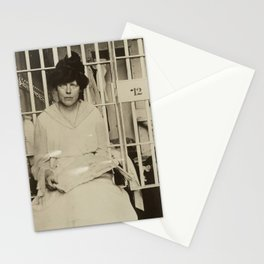 Suffragist Lucy Burns Jailed in Occoquan Workhouse, 1917 Stationery Cards