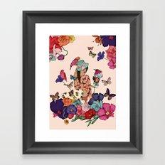 Color Splash Framed Art Print