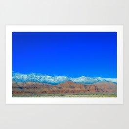 For the Love of Utah Art Print