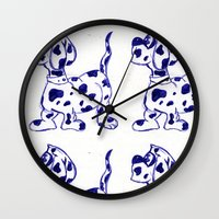 sketch Wall Clocks featuring sketch by Shelby Claire