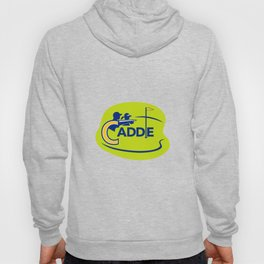 Caddie and Golfer Golf Course Icon Hoody