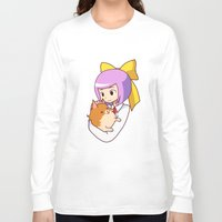 best friend Long Sleeve T-shirts featuring best friend by razrrjunko