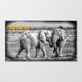 Africa I Canvas Print