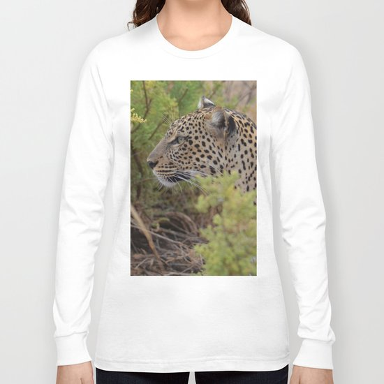 Leopard in the Wild Long Sleeve T-shirt