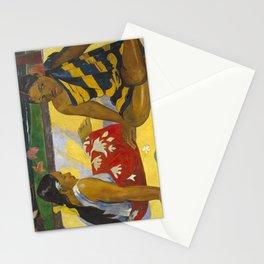 Parau Api / What's news? by Paul Gauguin Stationery Cards