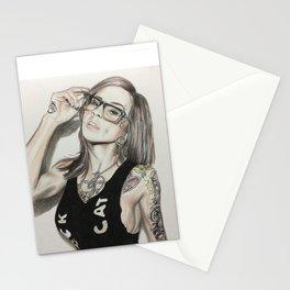 Inkd Girlz series (Madzilla) Stationery Cards