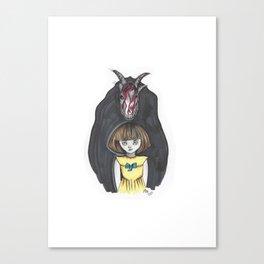 Fran Bow Canvas Print