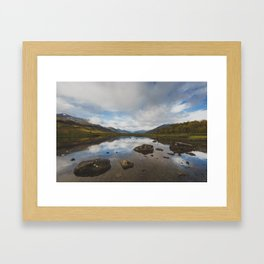 Lakeside Solitude - Swedish Lapland Framed Art Print