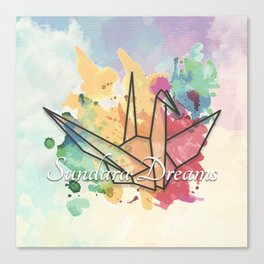 Sundara Dreams with Clouds Canvas Print