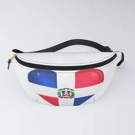 Dominican Love - Merengue - Platano - Dominican Republic - DR - The DR - S.O.T.B. On IG Fanny Pack