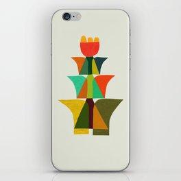 Whimsical bromeliad iPhone Skin