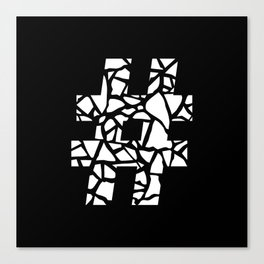 Hashtag #2 Canvas Print