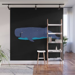 Whale you miss me? Wall Mural