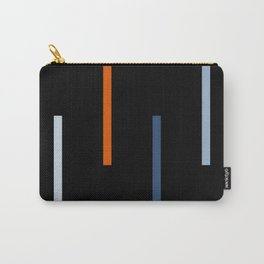 Abstract Retro Stripes Vinyasa Carry-All Pouch