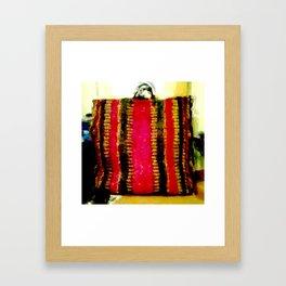 Mexican Bag Framed Art Print